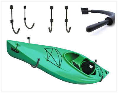 1 Sets 200Lbs Steel Storage Wall Hanger Hook Rack Shelf Pack Kayak Canoe SUP