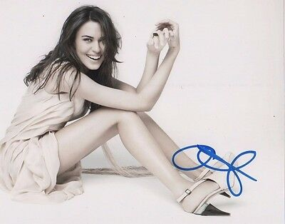Odette Annable Supergirl Autographed Signed 8x10 Photo COA #1