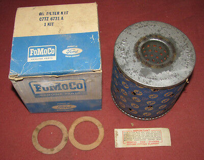 NOS 1967 67 Ford Truck Oil Filter Kit FoMoCo C7TZ-6731-A AC70