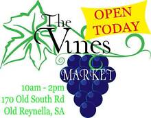 The Vines Market @ Old Reynella TODAY 10-2pm Old Reynella Morphett Vale Area Preview