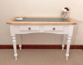 🍂🌳🍁 Large Country Chic Pine Console Table / Hall Table ***£129*** 🍁🌳🍂