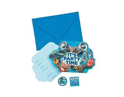 Skylanders Birthday Party Invitations Bundle Supplies   7-7A](Skylanders Invitations)