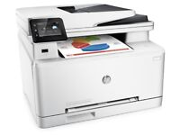 Coloured laser printer scanner with WiFi Wireless HP M277dw 110gbp