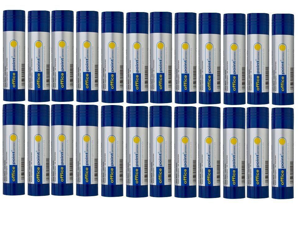 12-132 x Klebestifte á 40g Kleber Stick Klebstoff lösungsmittelfrei