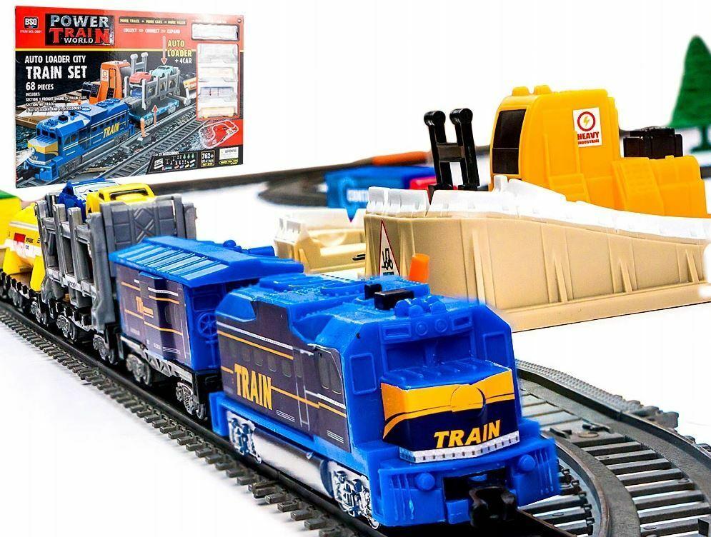 Großes Bahn Reisezug Set 762cm Elektrische Eisenbahn Lok,Zug,Lokomotive