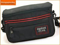 OPTEX PLUS CAMERA BAG~26x12x15 CM~FRONT~REAR POCKETS~ADJUSTABLE NECK STRAP 38M12
