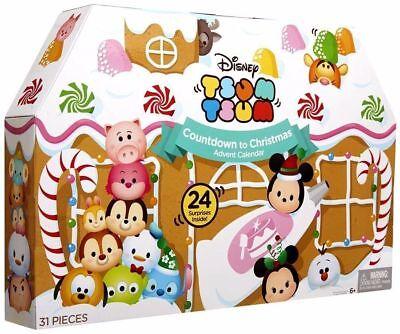 Disney TsumTsum Countdown To Christmas Advent Calendar 2016 Holiday 31 Pieces