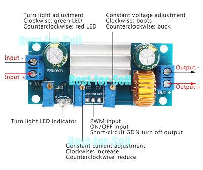 Dc 4.5-30v To 5v 9v 12v 24v Converter Constant Current Solar Battery Charger Pwm