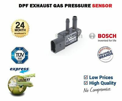 FOR VW EOS 2.0 TDI + 16V CONVERTIBLE 2010-2015 NEW DPF EXHAUST PRESSURE SENSOR
