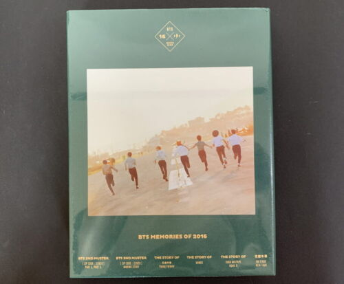 BTS-Memories Of 2016 BOOK+4 DVD FULL SET RARE FACTORY SEALED CONDITION