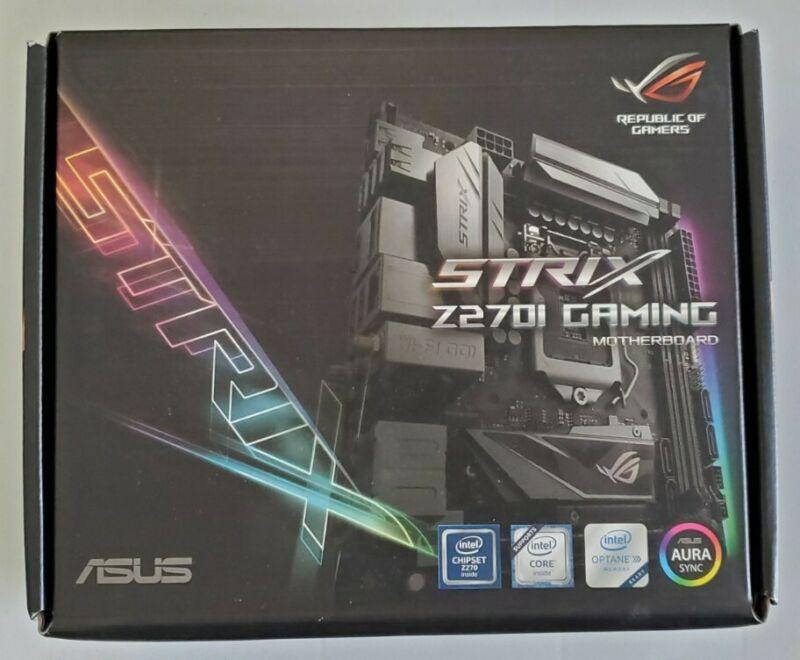 Asus z270i motherboard