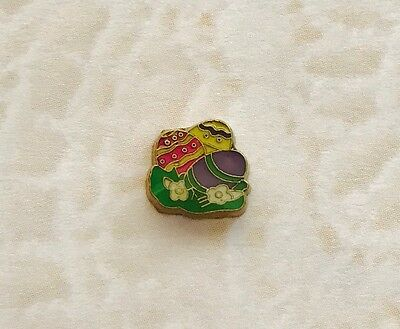 EASTER EGGS IN GRASS Floating Charm For Memory Locket