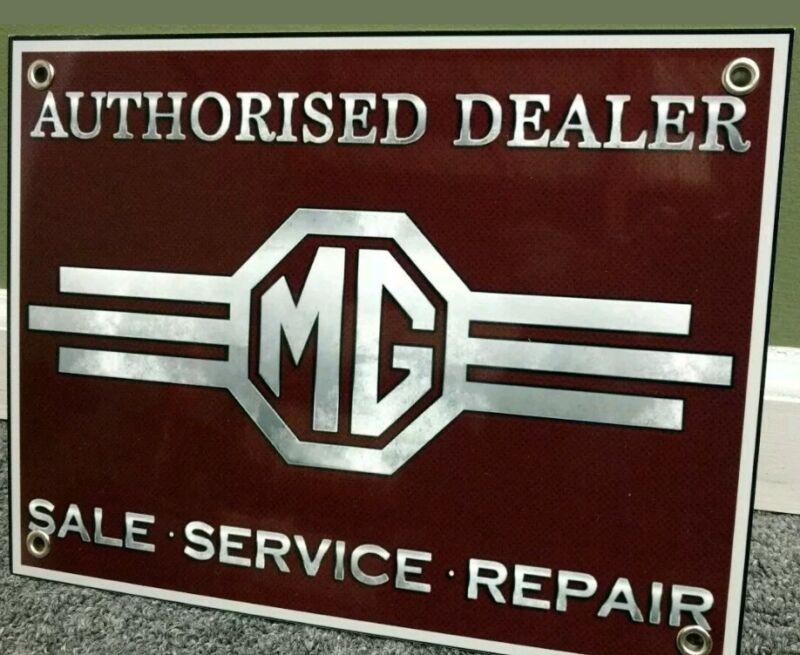 MG MGA MGB Sign