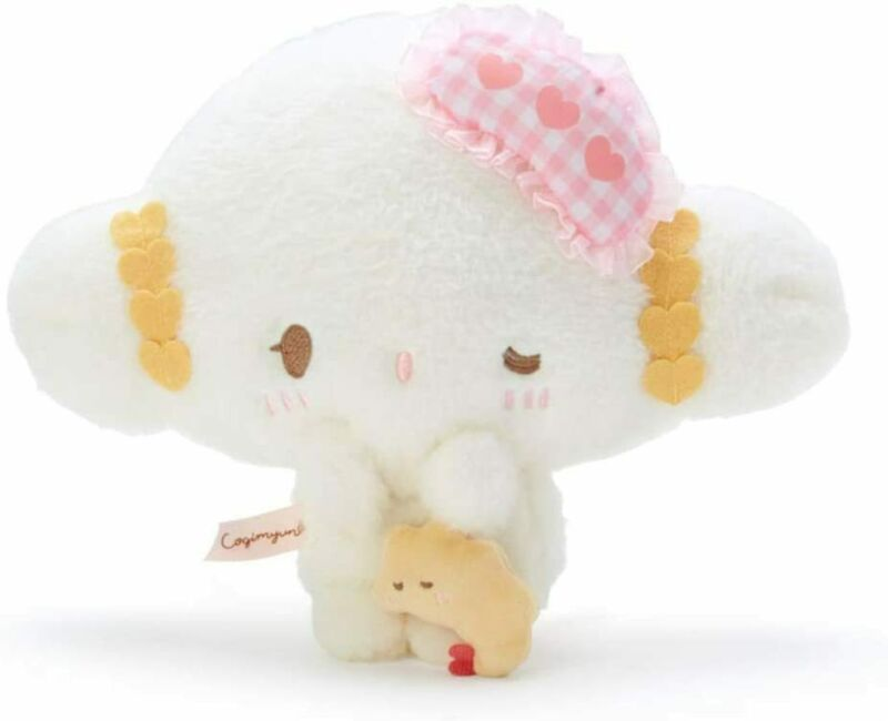 Sanrio Cogimyun Plush doll (Hajimemashite) 807851 From Japan