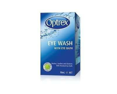 BEST PRICE! OPTREX EYE WASH WITH EYE BATH 110ML DISCOUNT CHEMIST