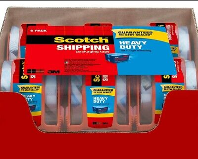 Packaging Tapeshipping Movingheavy-duty6 Rolls Add Dispenser