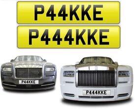 PAK private number plates cherished personalised reg - P44KKE & P444KKE