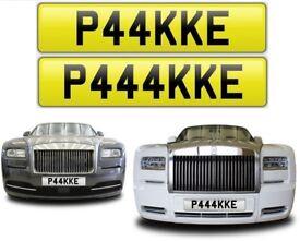 PAK private number plate cherished personalised plate car reg number Pakistan pak - P44KKE