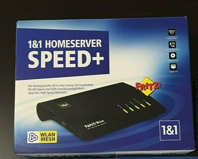 (J-59)  1&1 Homeserver Speed+ Fritz!Box 7590  OVP & VERSIEGELT 1.1