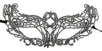 Mask from Venice Eva Lace Burano-Wolf Civet Tutti Fruiti 2214