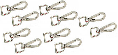 10x Lanyard Hook Swivel Snap For Paracord Lobster Clasp Clips Dog Leash Best