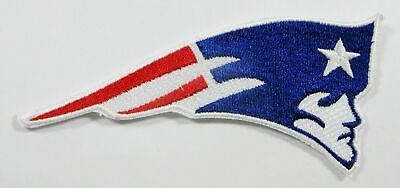 "New England Patriots Iron On Patch 4 1/2"" x 2"" Free Shippin in Stamped Envelope"