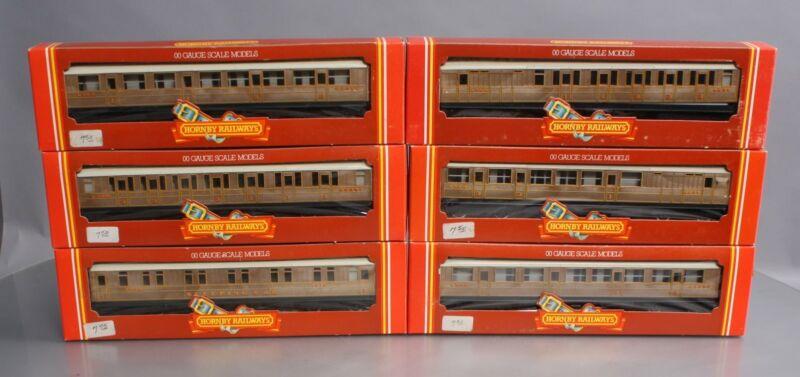 Hornby OO Vintage LNER Teak Finish Passenger Cars [6] EX/Box