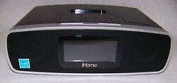 iHome iP90 AM/FM Dual Alarm Clock Radio iPod Docking Station with Remote Control