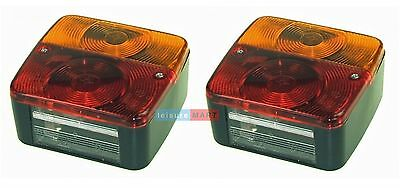 Rear trailer lights lamps (pair) four function LMX1717 Brand: RADEX