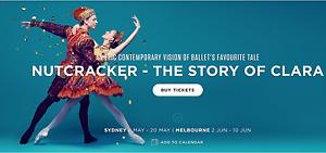 Nutcracker - The Story of Clara, Sydney Opera House, Sat 6th May Sydney City Inner Sydney Preview