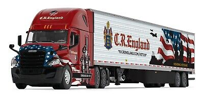 2019 DCP 1:64 *C.R. ENGLAND* HONORED VETERANS Freightliner Cascadia Semi *NIB*