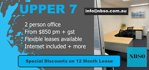 Last Two Desk Office for Lease Brisbane North