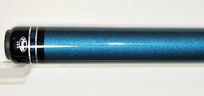 - Viking Pool Cue Beautiful Metallic Blue limited edition billiards custom 12 MM