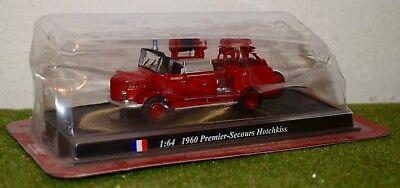 DEL PRADO FIRE ENGINES OF THE WORLD 1:64 1960 PREMIER-SECOURS HOTCHKISS
