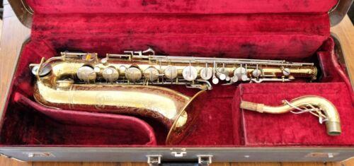 Buescher 400 Tenor Sax 454k Serial - Late 60