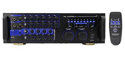 Vocopro DA-3700 Pro 240 Watt  Powered Karaoke Mixer Amplifier w/ Digital Echo