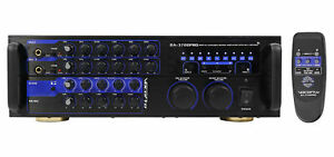 Vocopro DA-3700 Pro 240 Watt  Powered Karaoke Mixer Amplifier w/ Digital Echo