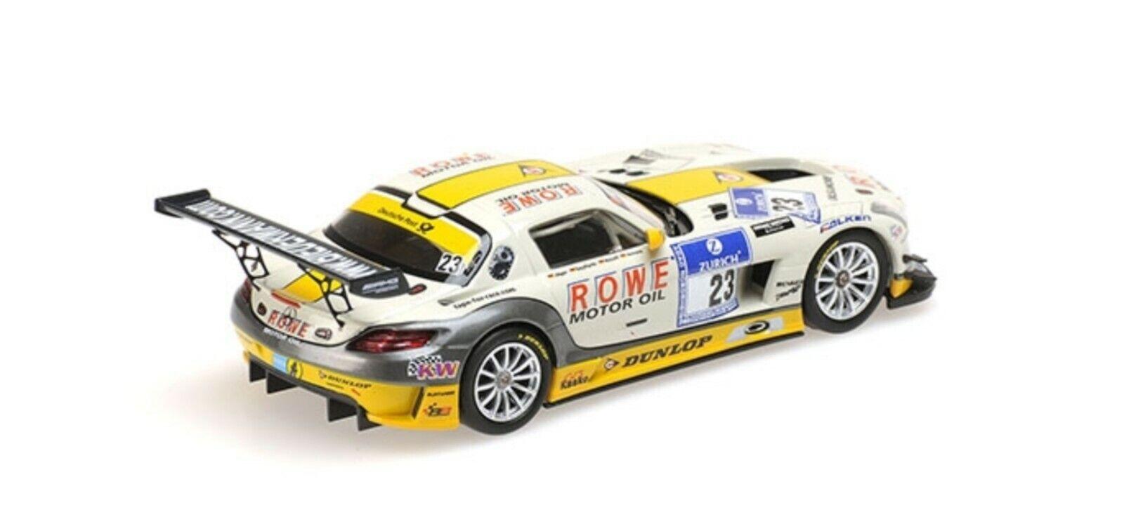 1:43 Mercedes SLS n°23 Nurburgring 2013 1/43 • MINICHAMPS 410133223 #