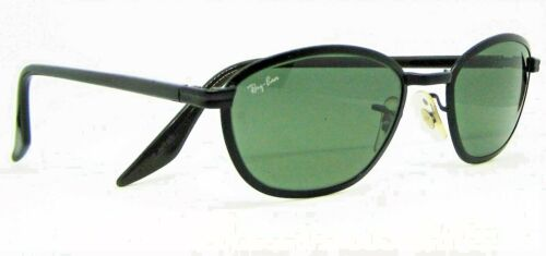 Ray-Ban USA Vintage NOS B&L Side Street W2863 Tea Cup BkChrrm G15 New Sunglasses