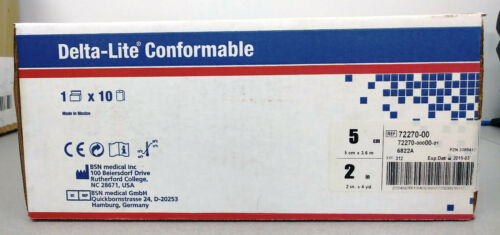 "Delta-Lite Conformable Fiberglass Cast Tape 2""x4 White 10 Rolls"