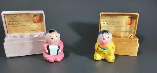Vintage The Great Wall Sheraton Hotel Beijing Souvenir Figurines