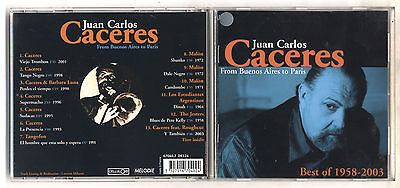Cd JUAN CARLOS CACERES Best of 1958-2003 From Buenos Aires to Paris (Best Of Buenos Aires)