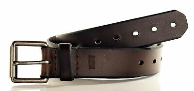 Levis Men's 38MM Perforated Leather Belt Brown