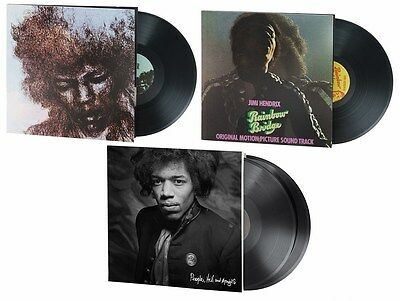 Jimi Hendrix  4 Lp   3 Album   200 Gram  Limited Edition  Audiophile Vinylbundle