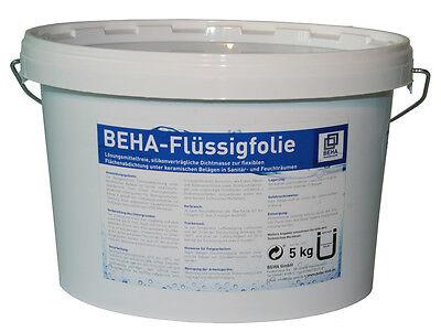 10kg BEHA Flüssigfolie, Dichtfolie, flüssig Abdichtung für Bad, Dusche