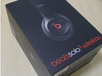 New Unboxed Beats by Dre. Solo2 Wireless On-Ear Headphones - Black - bought from Apple store London