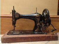 Singer sewing machine-antique 1891
