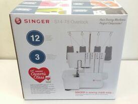 New Singer S14-78 Overlock
