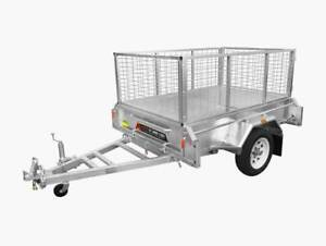 Cage Trailer for Hire