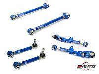 Megan Racing 6pc Rear Toe Traction Camber Arm Bushings 240SX S14 S15 Silvia